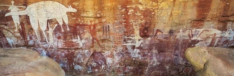 Aboriginal Rock Art - Quinkan Reserves, Cairns Cooktown Tour